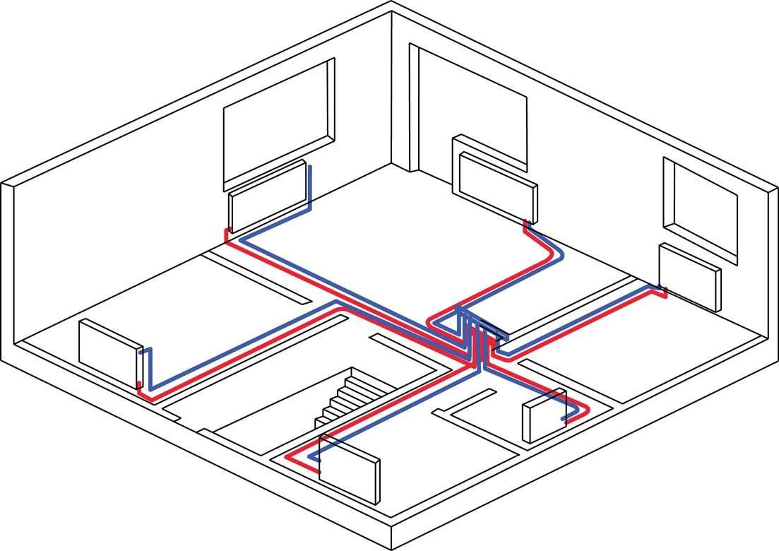 Монтаж батарей отопления в квартире
